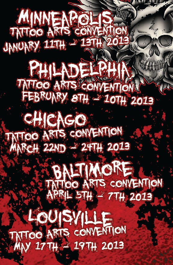 Minneapolis Tattoo Convention 2013 Chicago Tattoo Arts Convention