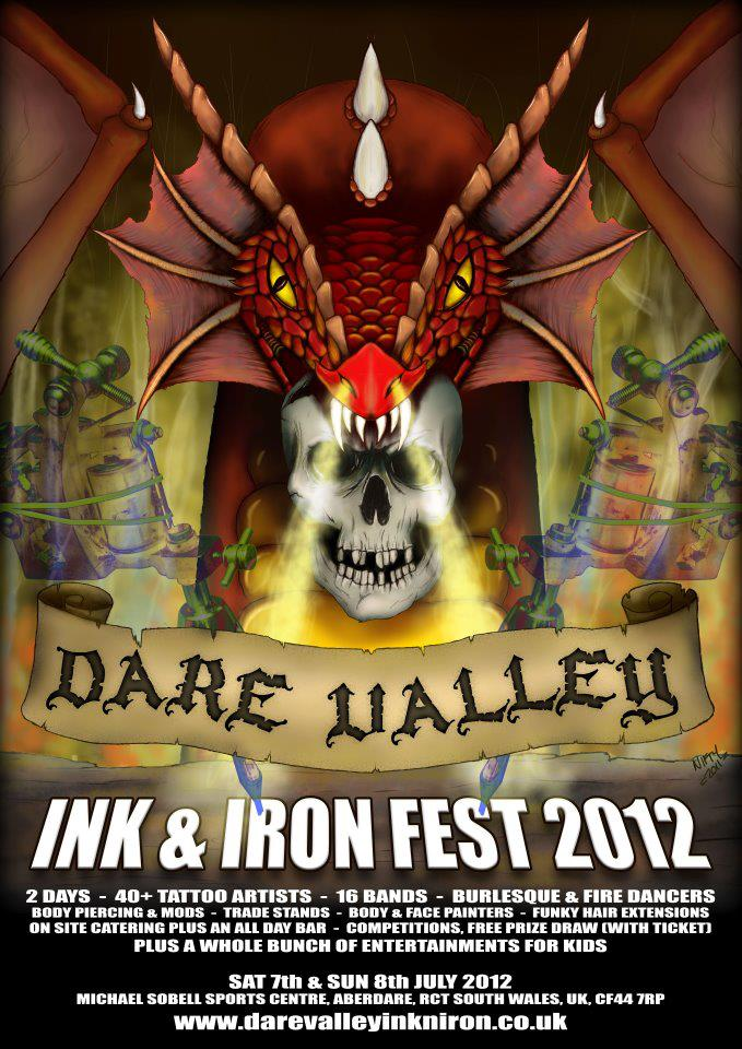 Dare Valley Ink Fest