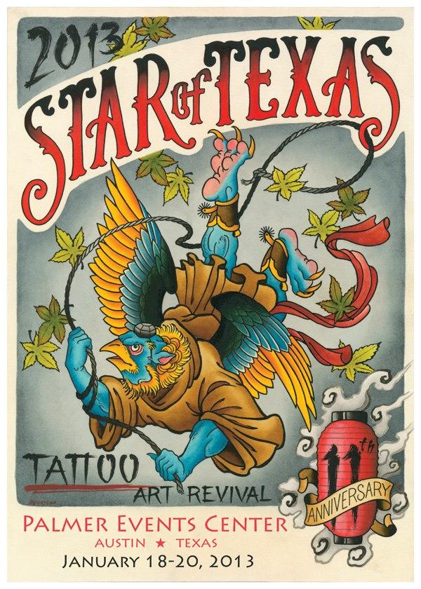 Star of Texas Tattoo Art Revival - January 2015